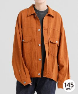 CANVAS LINEN JACKET<img class='new_mark_img2' src='https://img.shop-pro.jp/img/new/icons20.gif' style='border:none;display:inline;margin:0px;padding:0px;width:auto;' />