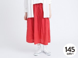 OUTLET FRENCH LINEN GATHER SKIRT (AL911503-1)<img class='new_mark_img2' src='https://img.shop-pro.jp/img/new/icons20.gif' style='border:none;display:inline;margin:0px;padding:0px;width:auto;' />