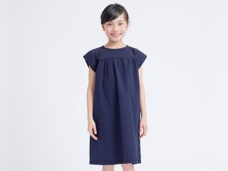 OUTLET SUCKER PARACHUTE DRESS<img class='new_mark_img2' src='https://img.shop-pro.jp/img/new/icons20.gif' style='border:none;display:inline;margin:0px;padding:0px;width:auto;' />