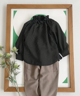 2WAY FRILL SHIRT DOT