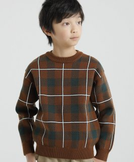 KNIT TARTAN CHECK PO<img class='new_mark_img2' src='https://img.shop-pro.jp/img/new/icons20.gif' style='border:none;display:inline;margin:0px;padding:0px;width:auto;' />
