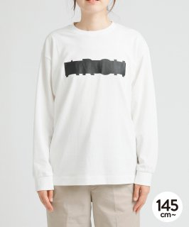 CLEAR COTTON SHADOW ARCH L/S T