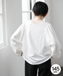 CLEAR COTTON 2WAY CARDIGAN