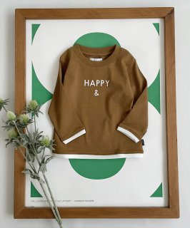CLEAR COTTON HAPPY & L/S T