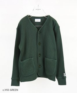 OUTLET CLASSIC WAFFLE CARDIGAN<img class='new_mark_img2' src='https://img.shop-pro.jp/img/new/icons20.gif' style='border:none;display:inline;margin:0px;padding:0px;width:auto;' />