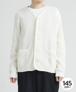 CLASSIC WAFFLE CARDIGAN<img class='new_mark_img2' src='https://img.shop-pro.jp/img/new/icons20.gif' style='border:none;display:inline;margin:0px;padding:0px;width:auto;' />