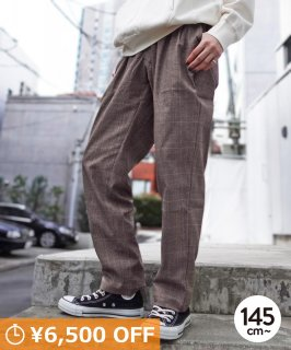 CHECK TROUSERS<img class='new_mark_img2' src='https://img.shop-pro.jp/img/new/icons20.gif' style='border:none;display:inline;margin:0px;padding:0px;width:auto;' />