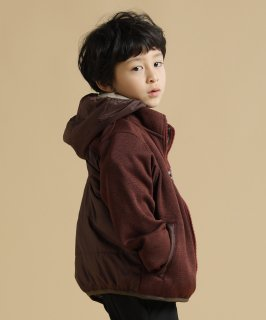 SWEATER FLLECE PARKA