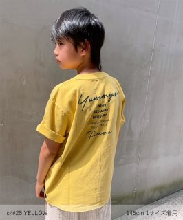 OUTLET G/D CANVAS PIZZA TEE ジャストルーズ 製品染め[145-175cm] <img class='new_mark_img2' src='https://img.shop-pro.jp/img/new/icons20.gif' style='border:none;display:inline;margin:0px;padding:0px;width:auto;' />