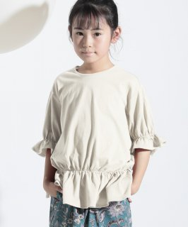 OUTLET OG DRAWSTRING TEE オーガニックコットン[85-145cm]<img class='new_mark_img2' src='https://img.shop-pro.jp/img/new/icons20.gif' style='border:none;display:inline;margin:0px;padding:0px;width:auto;' />