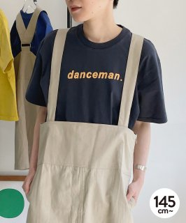 G/D CANVAS danceman TEE ジャストルーズ 製品染め[145-175cm]<img class='new_mark_img2' src='https://img.shop-pro.jp/img/new/icons20.gif' style='border:none;display:inline;margin:0px;padding:0px;width:auto;' />