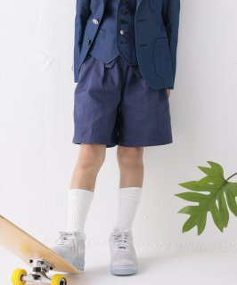 OXFORD WASHER TUCK CULOTTE  紐取り外し可/UNISEX[100-145cm]