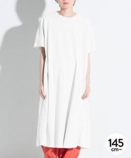 G/D CANVAS FLARE DRESS 製品染めワンピ/ポケット付き[145-165cm]
