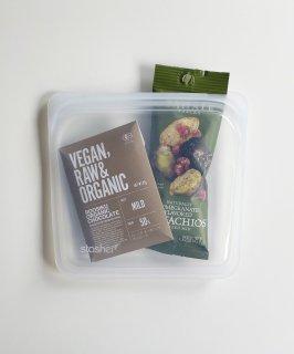 stasher 〈SANDWICH〉 シリコン素材/プラスチックフリー/電子レンジ&冷凍可