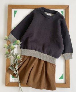 COTTON KNIT PO ダブルジャガード編み オンオフ兼用[85-145cm]