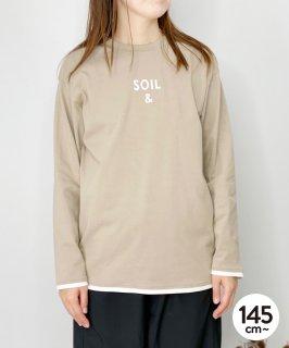 OG CLEAR COTTON  SOIL TEE オーガニックコットン [145-175cm]