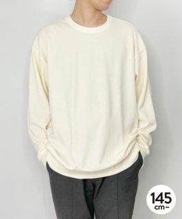 ORGANIC HONEYCOMB C/N TEE ハニカム編み/オーガニックコットン[145-175cm]