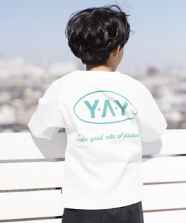 CANVAS YAY L/S TEE ジャストルーズ 製品染め [100-145cm ]