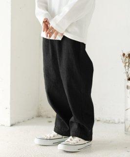 DENIM CREW PANTS 通年素材デニム [100-145cm]