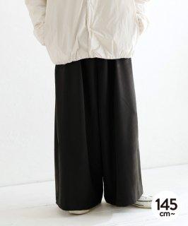 GATHER WIDE PANTS 通年素材[145-165cm]