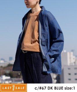 LIGHT DENIM B/D SHIRT 薄手デニム素材/羽織り[145-165cm]