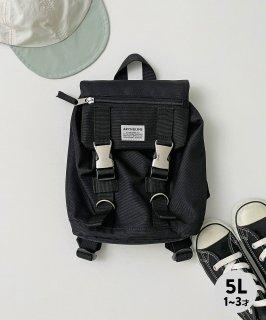 UTILITY BAG MINI 〈BLACK〉 リュック 容量5L CORDURA 撥水 ギフト[1〜3歳]