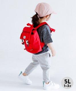 UTILITY BAG MINI 〈RED〉 リュック 容量5L CORDURA 撥水 ギフト[1〜3歳]