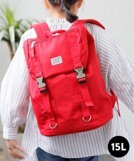 UTILITY BAG [RED] 撥水リュック 容量15L ランドセル 通塾 CORDURA