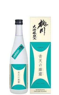 青天の霹靂 桃川 大吟醸純米酒720ml