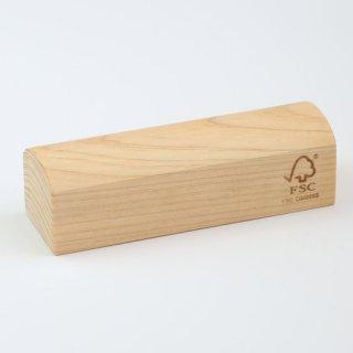 尾鷲檜(ひのき)の香りと手触り、木目が楽しめる|ペーパーウエイト(小)|ウッドメイクキタムラ