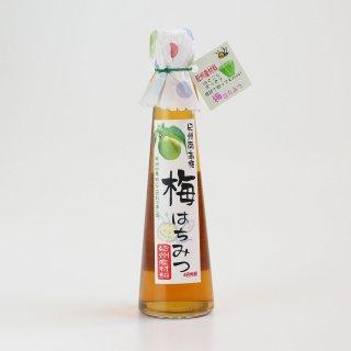 紀州南高梅を使った爽やかなはちみつ飲料(希釈)|梅はちみつ185ml|野村養蜂園