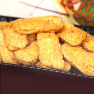 カレーと伊勢海老の旨味が合わさったリッチな味わいのせんべい|伊勢海老入りカレーせんべい|伊勢萬