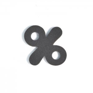 EVA記号 % ブラック