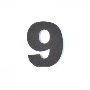 EVA数字 9 ブラック
