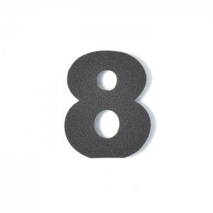 EVA数字 8 ブラック