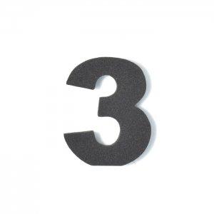 EVA数字 3 ブラック