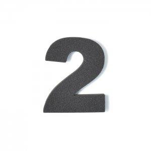 EVA数字 2 ブラック
