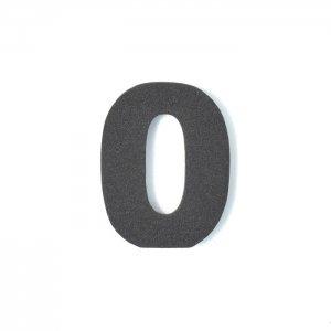 EVA数字 0 ブラック