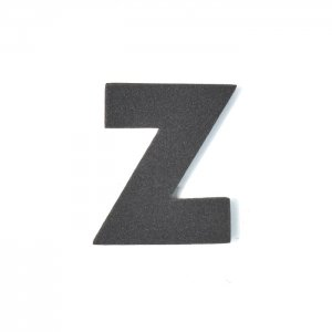 EVAアルファベット Z ブラック