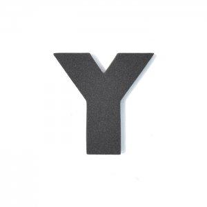EVAアルファベット Y ブラック