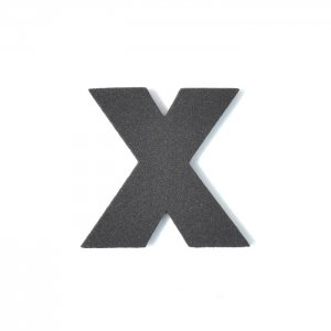 EVAアルファベット X ブラック