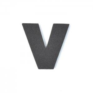 EVAアルファベット V ブラック
