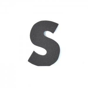 EVAアルファベット S ブラック