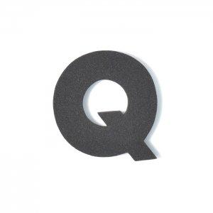 EVAアルファベット Q ブラック