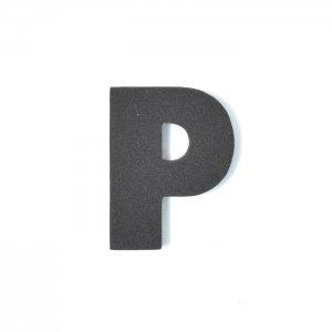 EVAアルファベット P ブラック