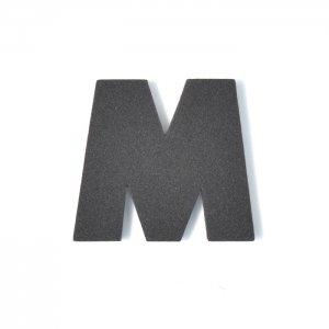 EVAアルファベット M ブラック