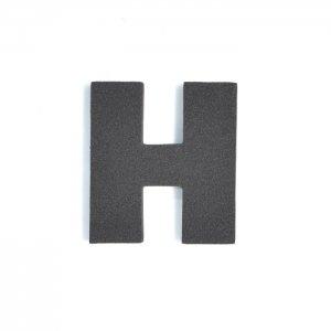 EVAアルファベット H ブラック