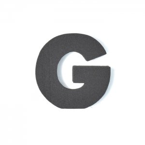 EVAアルファベット G ブラック