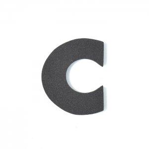 EVAアルファベット C ブラック