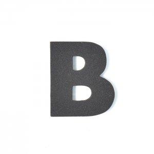 EVAアルファベット B ブラック